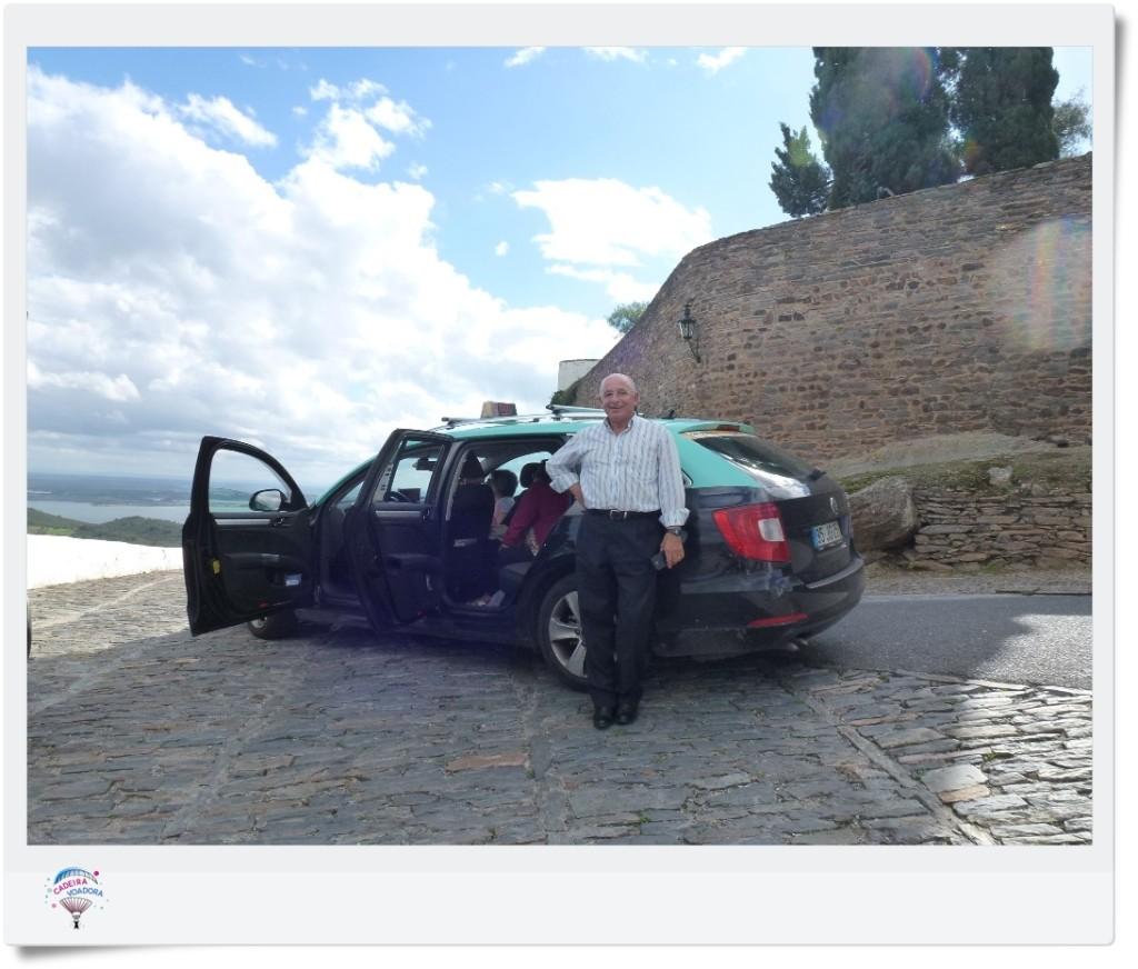 Sr. Aníbal: excelente motorista, bom papo, anjo da guarda e filial do Google...