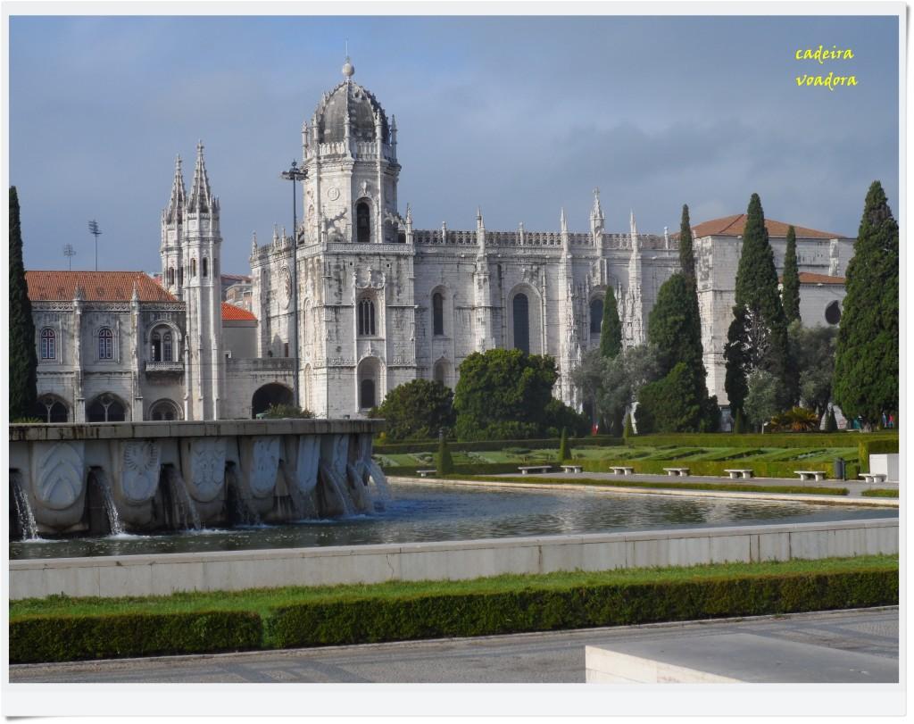 O belíssimo Mosteiro dos Jerônimos. (Todas as fotos pertencem ao acervo da Cadeira Voadora)
