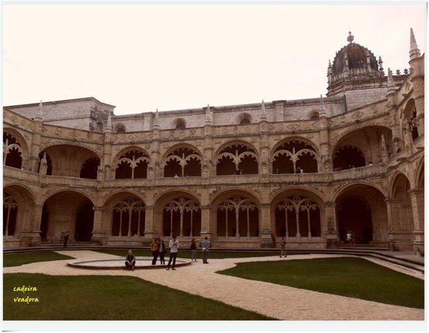 Mosteiro - claustro inferior