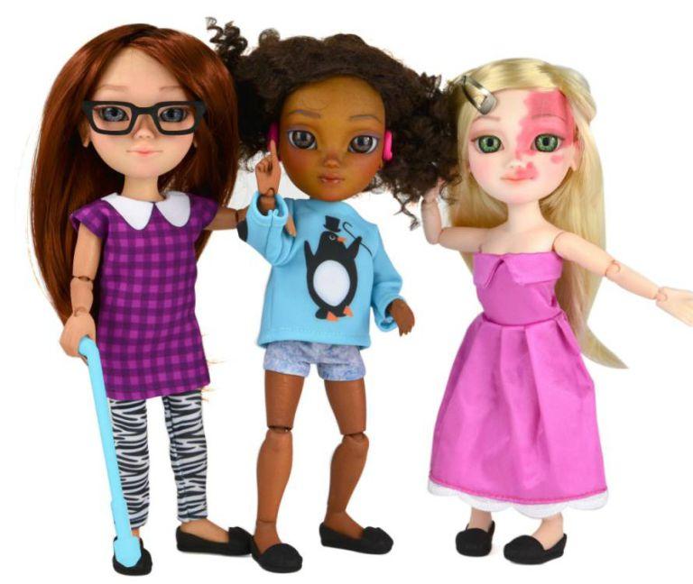 Brinquedos produzidos pela Toy Like Me