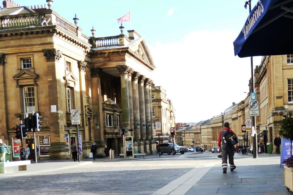 Mais uma imagem da bonita Grey Street