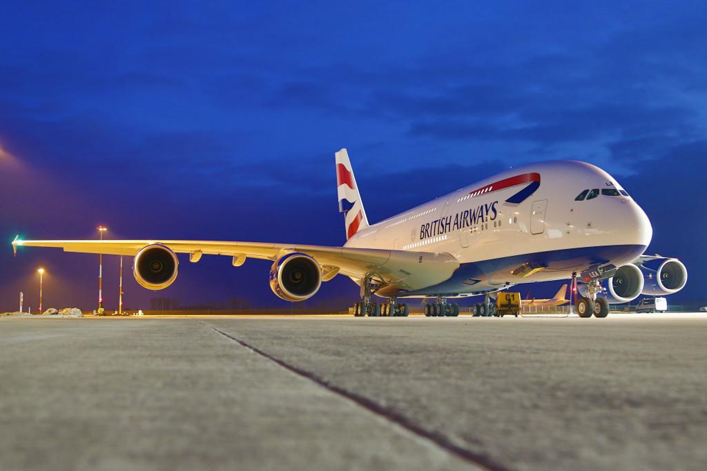 British Airways, A380 Airbus - Imagem do site http://citifmonline.com/