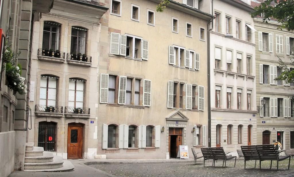 A parte antiga da cidade rende belos e agradáveis passeios