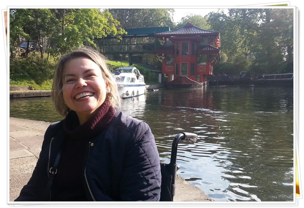 """O passeio pelo Regent""""s Canal não poderia ser mais agradável!"""