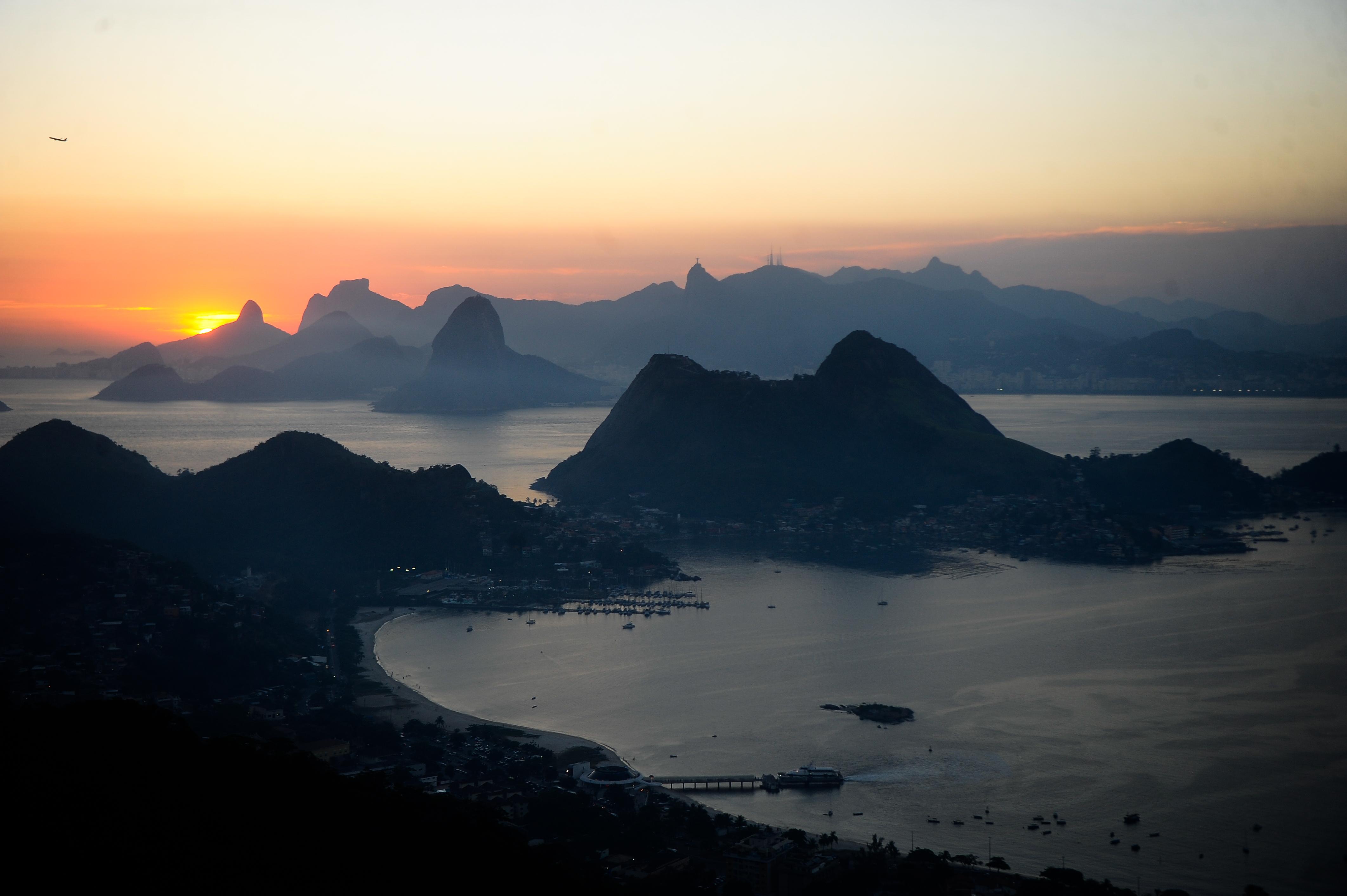 Rio visto do Parque da Cidade, em Niterói (Tomaz Silva/Agência Brasil)