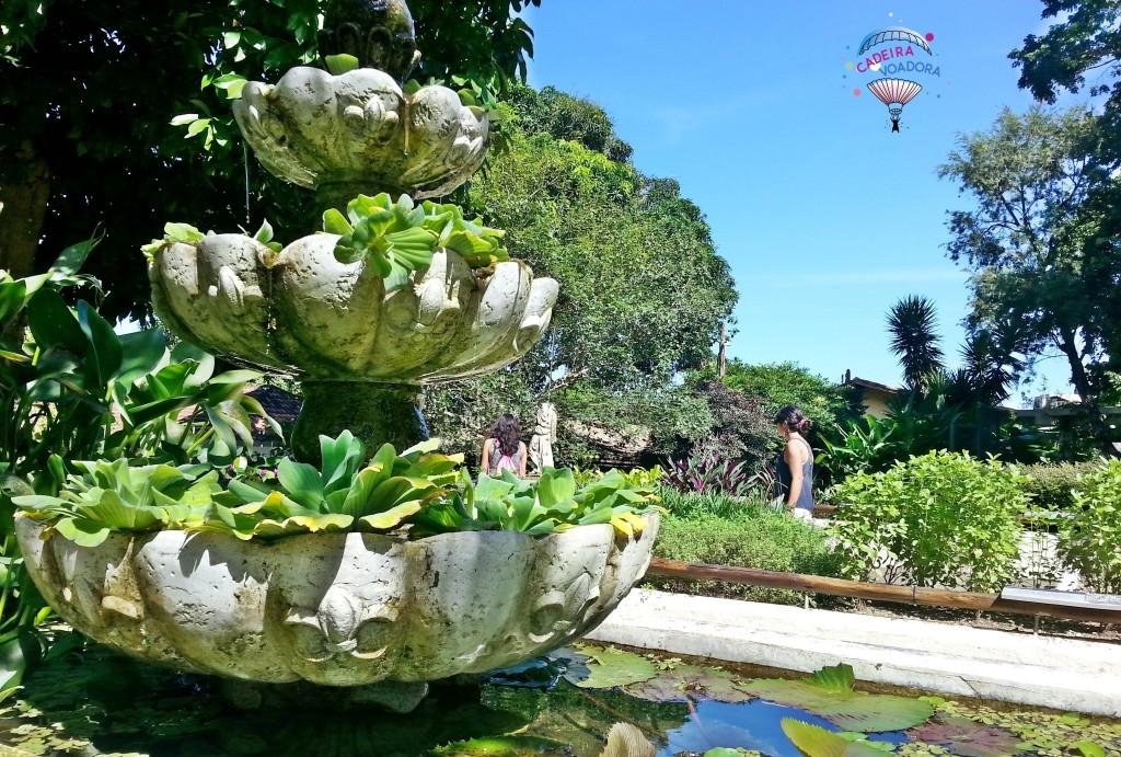 Vaso no Jardim Sensorial