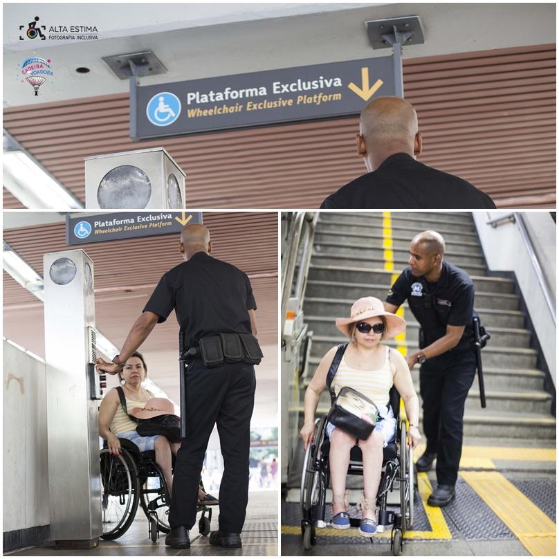 Todas as vezes em que utilizei metrô no Rio (e nesta viagem não foi a primeira vez), sempre fui atendida com atenção e gentileza pelos seguranças.
