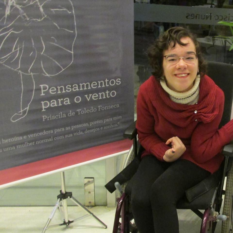 Priscila Fonseca enfrentou muitos desafios para concluir o curso.