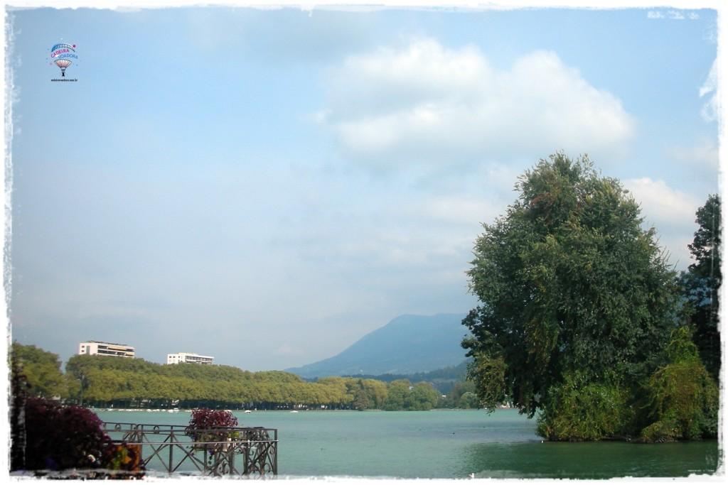 Mais uma foto do Lago de Annecy