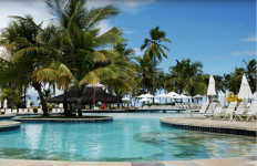 Para os cadeirantes e pessoas com mobilidade reduzida que curtem sol, praia, piscina e belas paisagens, o complexo de lazer Costa do Sauipe é uma boa opção (Imagem cedida pela gerência do hotel ao Trip Advisor)