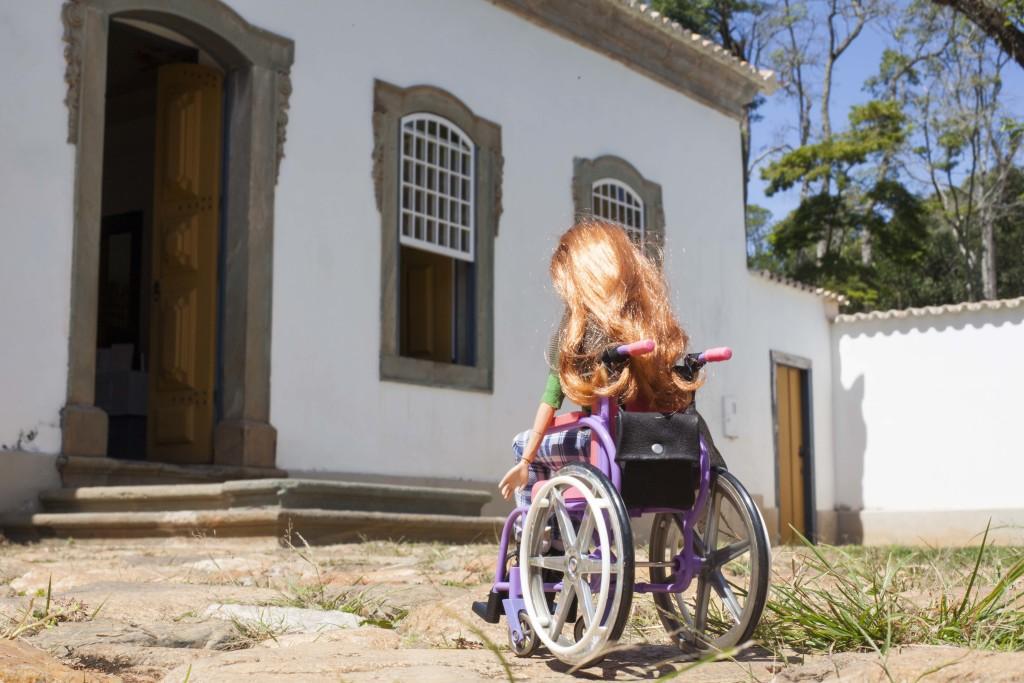 Tina Descolada em Tiradentes. (Foto de Marta Alencar)