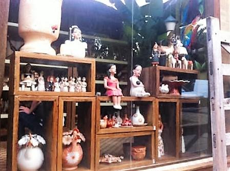 O Xapuri também tem lojinha de artesanato
