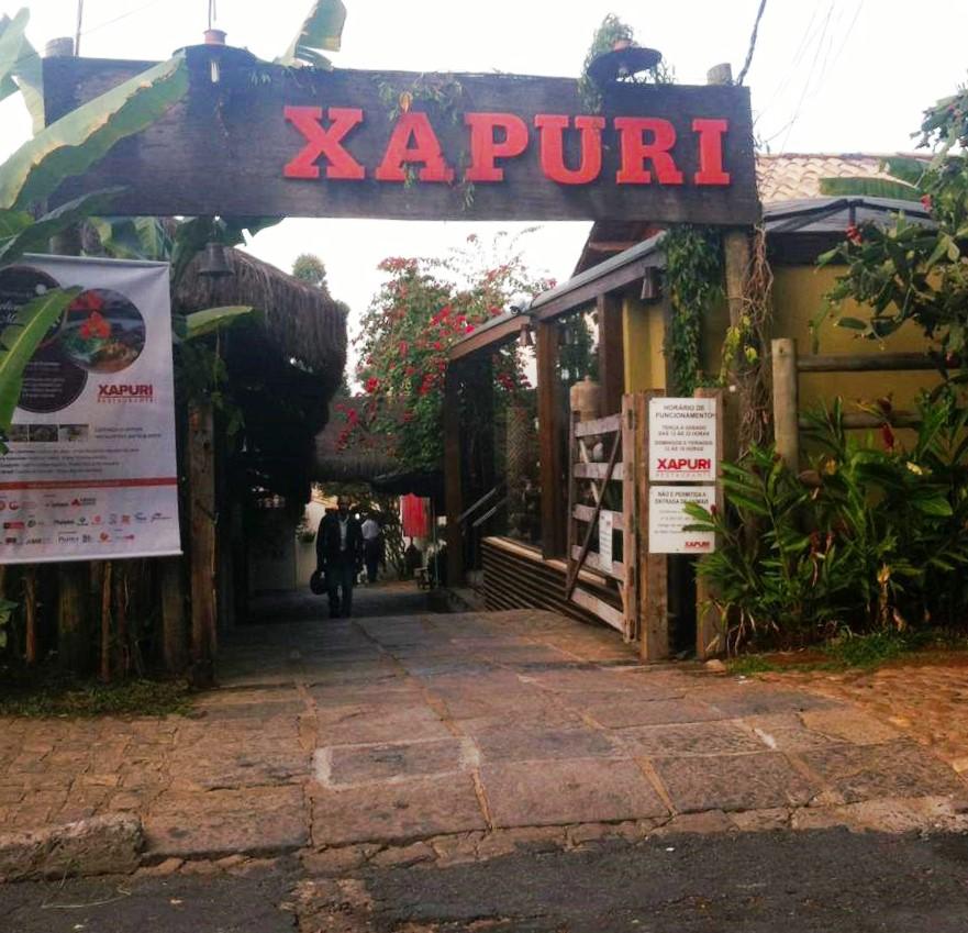 Entrada do Xapuri