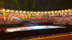 Maracanã lotado, com uma explosão de cores, na Cerimônia de Abertura da Paralimpíada
