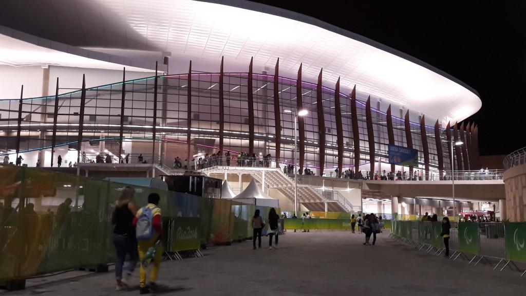 Arena Carioca 3, no Parque Olímpico.