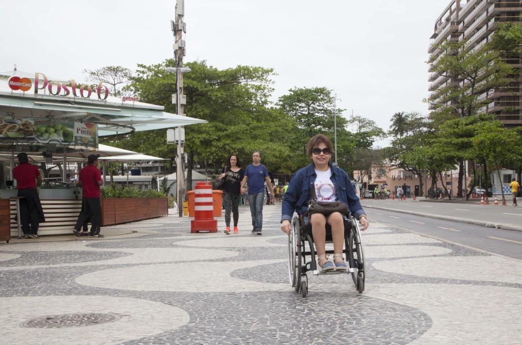 É muito fácil rodar do hotel até o calçadão de Copacabana. Dá até pra ir sozinho! (MA)