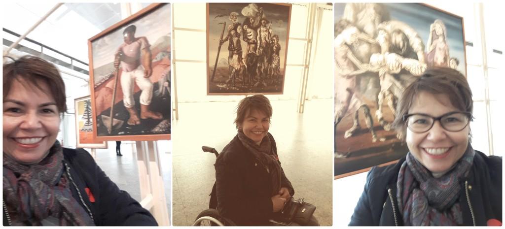 A exposição de Portinari está bem-montada, com facilidade de circulação. Além disso, contém obras significativas.