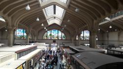 Tirei esta foto do Mercado Municipal quando estava no mezanino. Veja que bonito. (Todas as fotos pertencem ao acervo Cadeira Voadora)