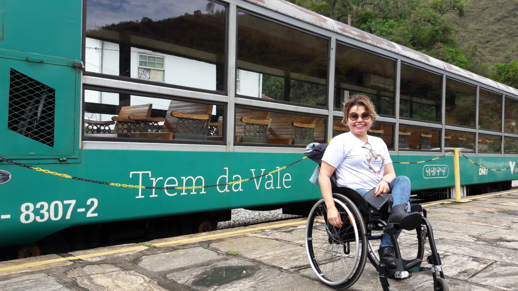 Este é o vagão panorâmico do Trem da Vale que faz o trajeto Ouro Preto - Mariana (Todas as fotos pertencem ao meu acervo, exceto quando indicado)