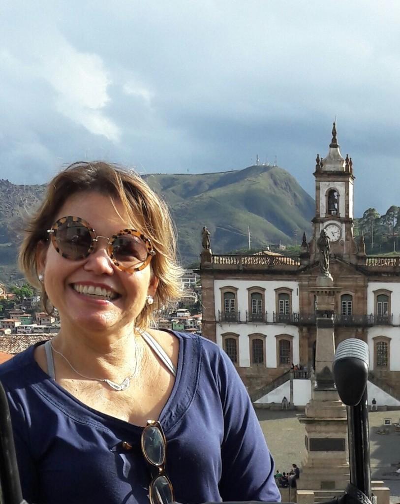 Ao fundo, o Museu da Inconfidência, em Ouro Preto.