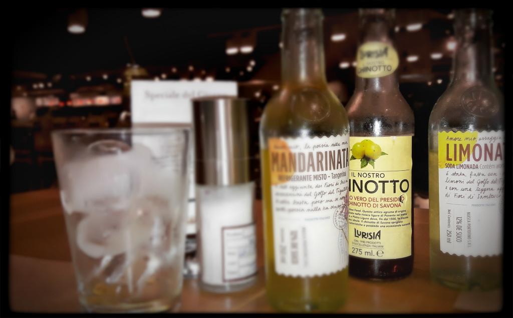 As bebidas só foram fotografadas porque vieram antes da comida. Assim que chegaram nossos pratos, nos esquecemos que existia algo com o nome de câmera fotográfica...